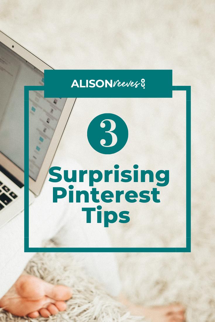 3 Surprising Pinterest Tips image