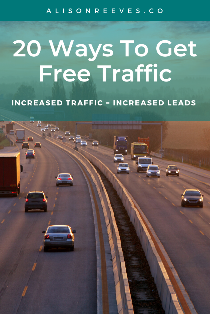 How To Get Free Traffic | Increasing Leads To Make More Money