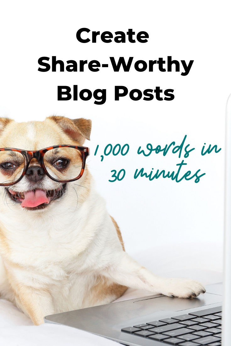 Blog Writing Process: Create Share-Worthy Content In 30 Minutes