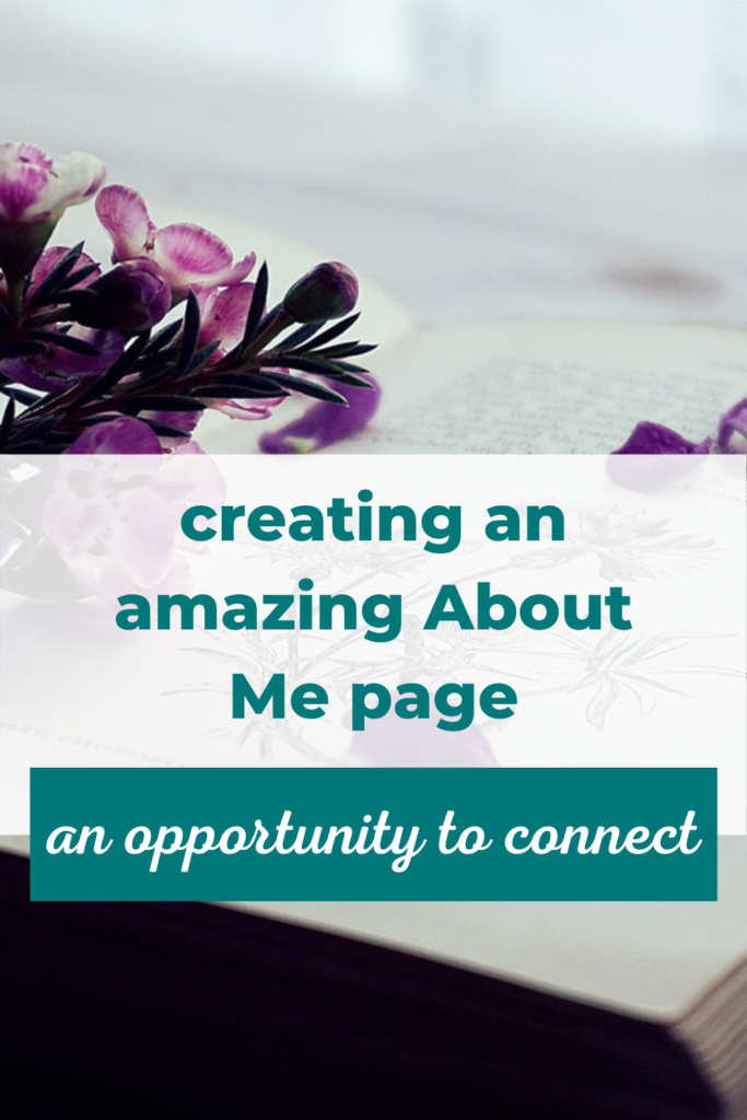 How To Create A Blog About Me Page