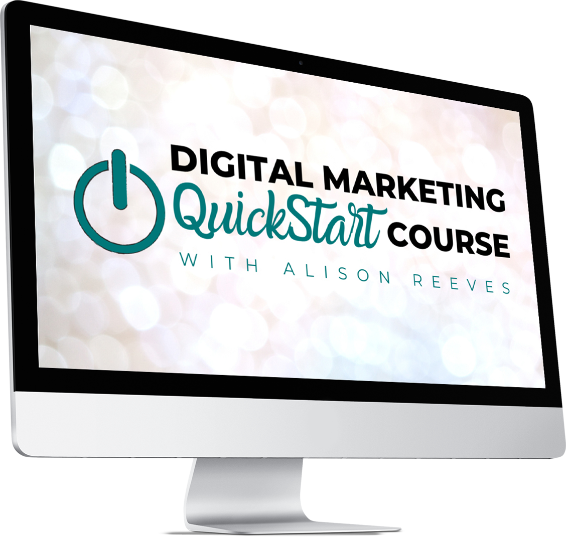 digital marketing quickstart course make money blogging