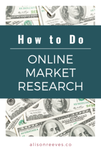 How to do online market research to validate your offer and have a successful launch.