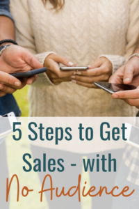 5 steps to effective social sales, even with no audience.