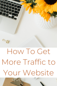 Four top strategies to get more traffic to your blog or website.