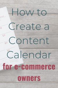 How e-commerce owners can create an excellent editorial calendar.