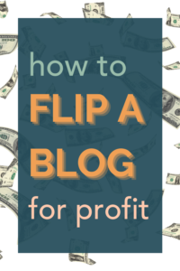 Blog flipping: how I sold my personal blog, and how to profit from flipping blogs.