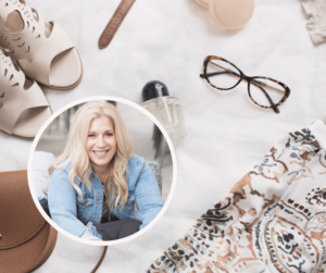How Dawn sells fashion consulting through her blog.