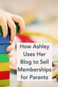 Using a blog to increase membership sales.