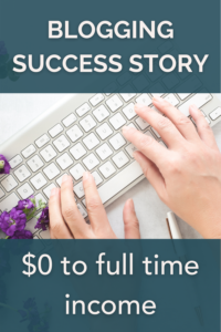 How Attaliah became a successful blogger with a full time income.