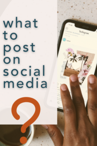 How and what to post on social media for your business.